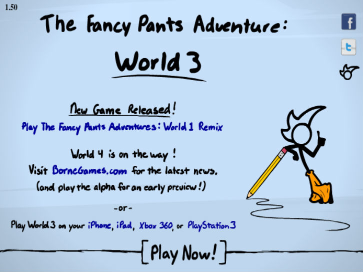 Fancy Pants Adventure 3